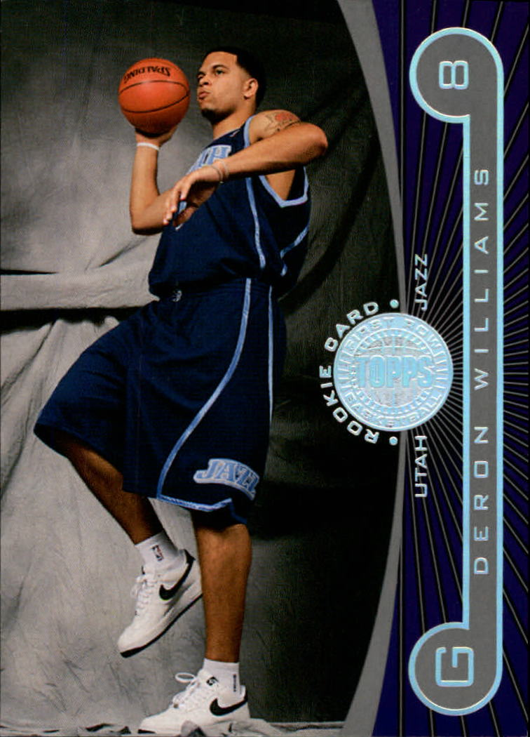2005-06 Topps First Row #113 Deron Williams RC