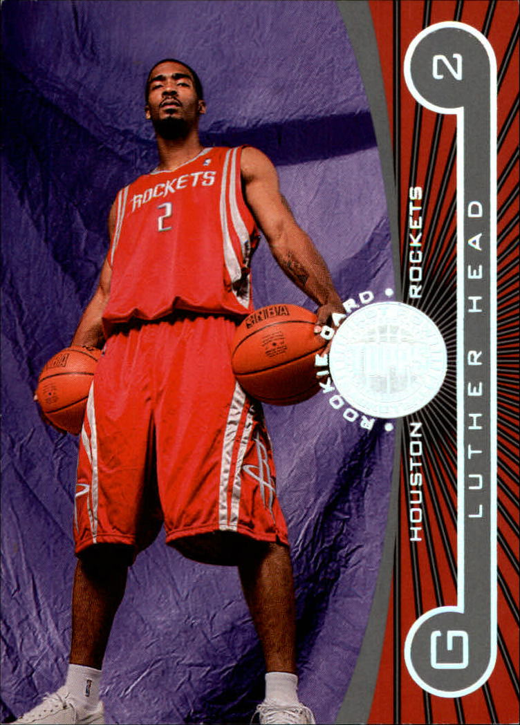 2005-06 Topps First Row #120 Luther Head RC