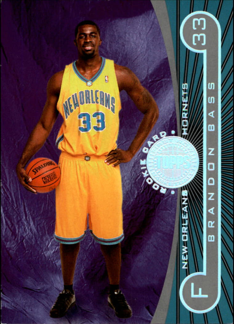 2005-06 Topps First Row #123 Brandon Bass RC