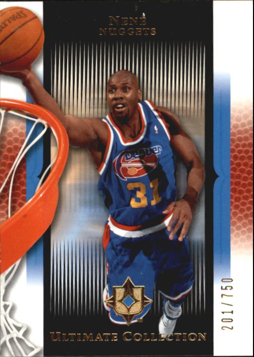 2005-06 Ultimate Collection #31 Nene