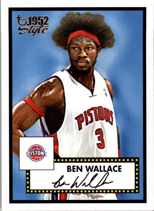 2005-06 Topps Style #1 Ben Wallace