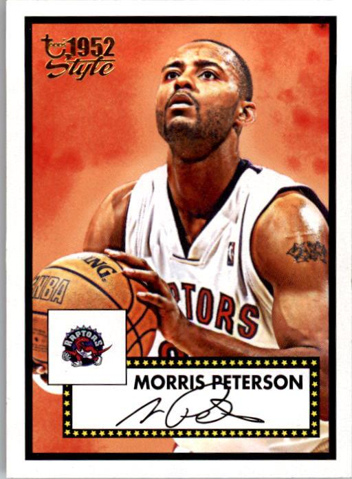 2005-06 Topps Style #4 Morris Peterson