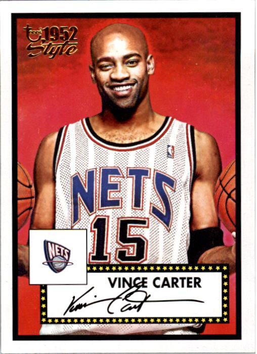 2005-06 Topps Style #17 Vince Carter