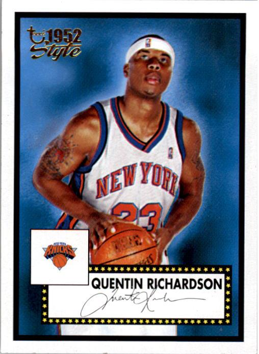 2005-06 Topps Style #21 Quentin Richardson