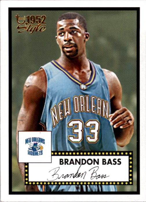 2005-06 Topps Style #138 Brandon Bass RC