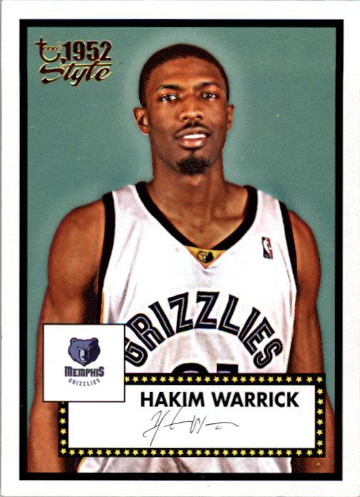 2005-06 Topps Style #143 Hakim Warrick RC