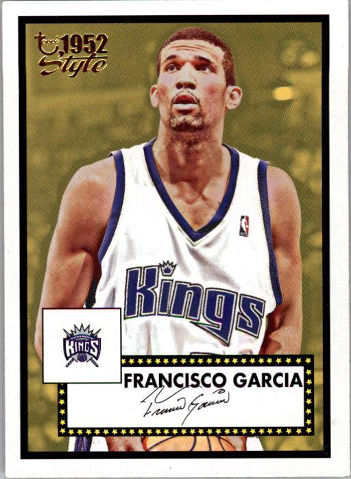 2005-06 Topps Style #144 Francisco Garcia RC