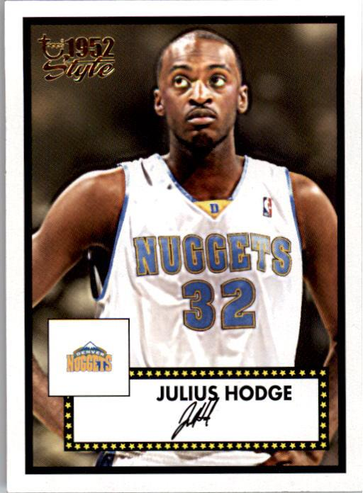 2005-06 Topps Style #151 Julius Hodge RC