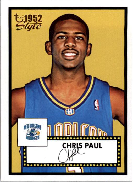 2005-06 Topps Style #154 Chris Paul RC