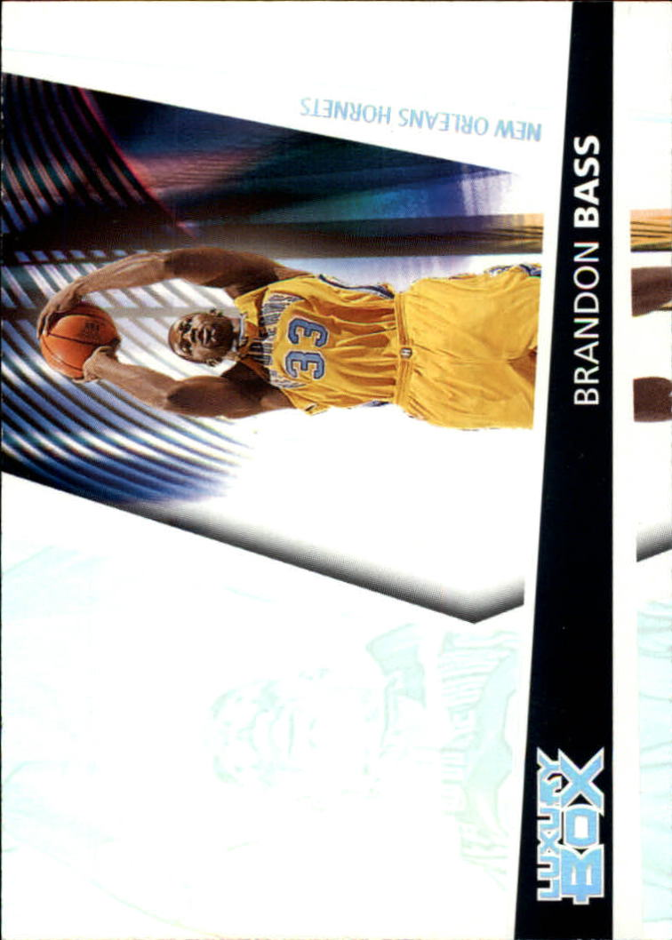 2005-06 Topps Luxury Box #106 Brandon Bass RC