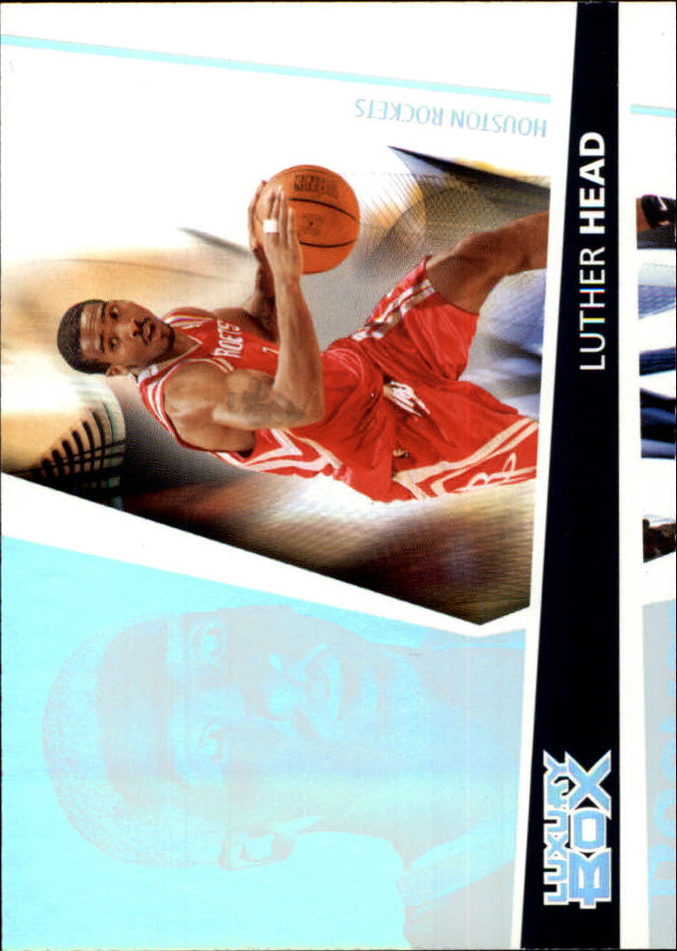2005-06 Topps Luxury Box #126 Luther Head RC