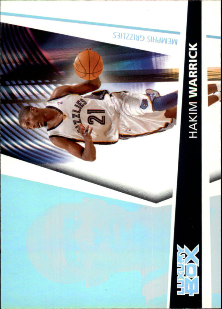 2005-06 Topps Luxury Box #132 Hakim Warrick RC