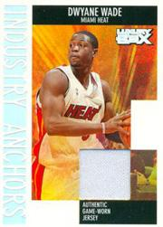 2005-06 Topps Luxury Box Industry Anchors Relics #DW1 Dwyane Wade