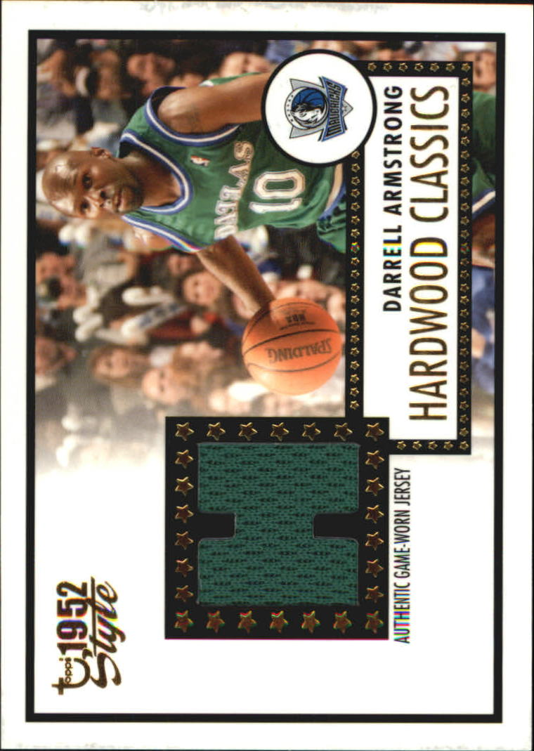 2005-06 Topps Style Hardwood Classics #DA Darrell Armstrong