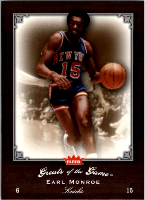 2005-06 Greats of the Game #1 Earl Monroe