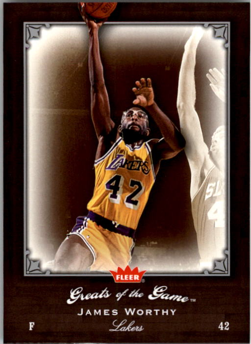 2005-06 Greats of the Game #3 James Worthy
