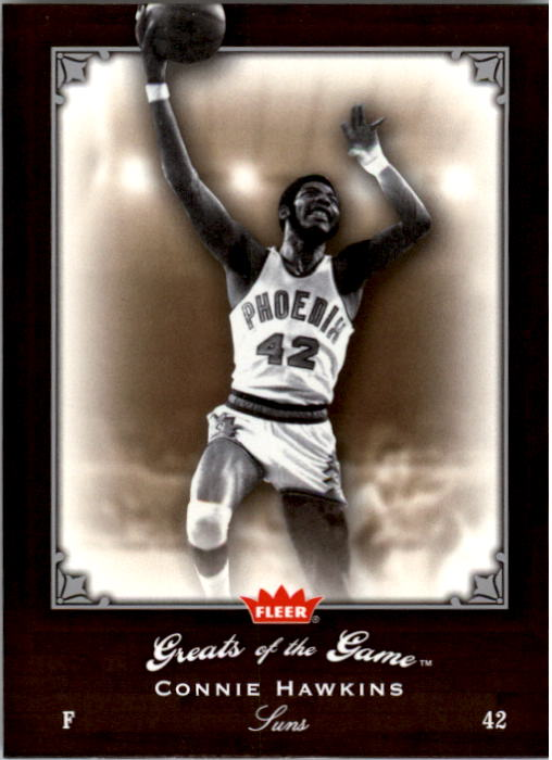 2005-06 Greats of the Game #5 Connie Hawkins