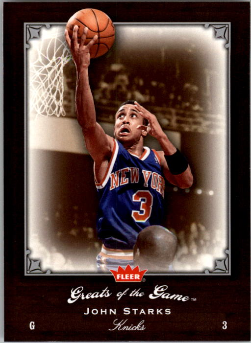2005-06 Greats of the Game #6 John Starks