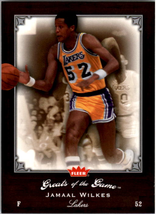 2005-06 Greats of the Game #10 Jamaal Wilkes