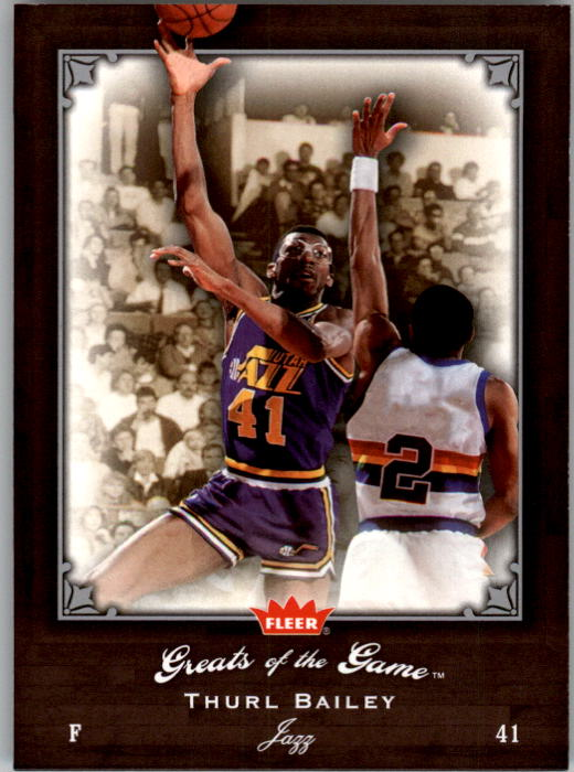 2005-06 Greats of the Game #22 Thurl Bailey