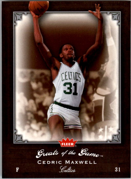 2005-06 Greats of the Game #23 Cedric Maxwell