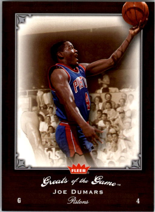 2005-06 Greats of the Game #24 Joe Dumars