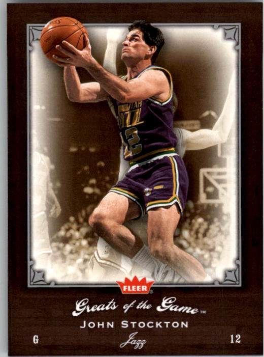 2005-06 Greats of the Game #27 John Stockton