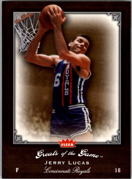 2005-06 Greats of the Game #30 Jerry Lucas