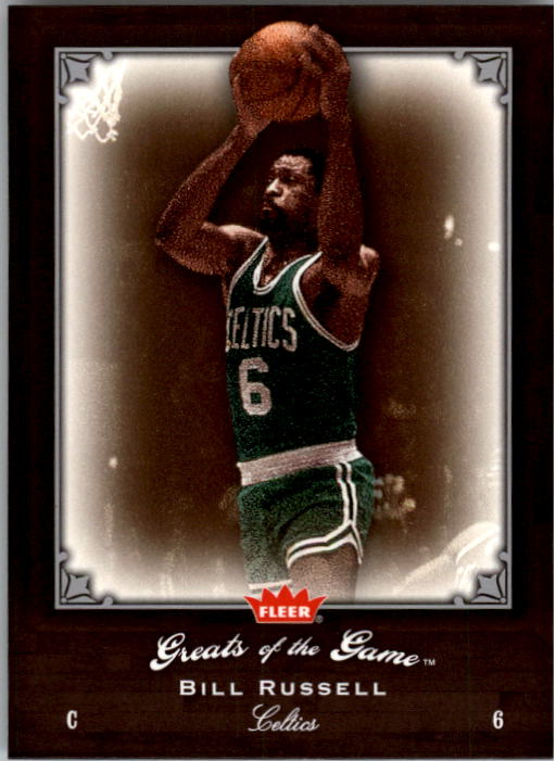 2005-06 Greats of the Game #31 Bill Russell front image