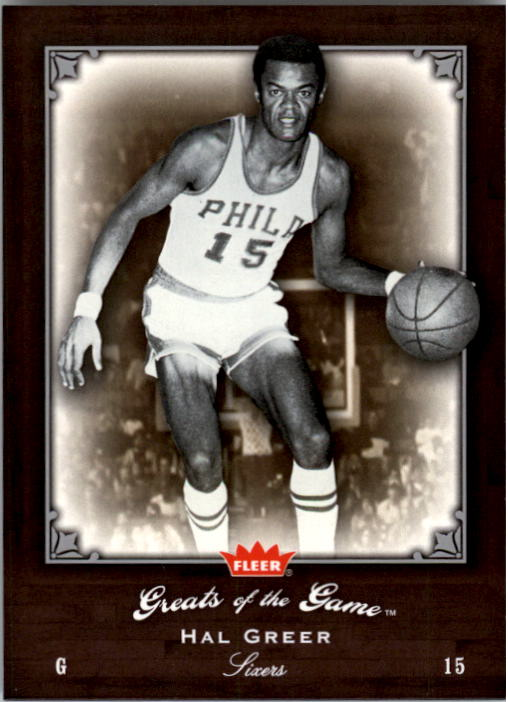 2005-06 Greats of the Game #32 Hal Greer