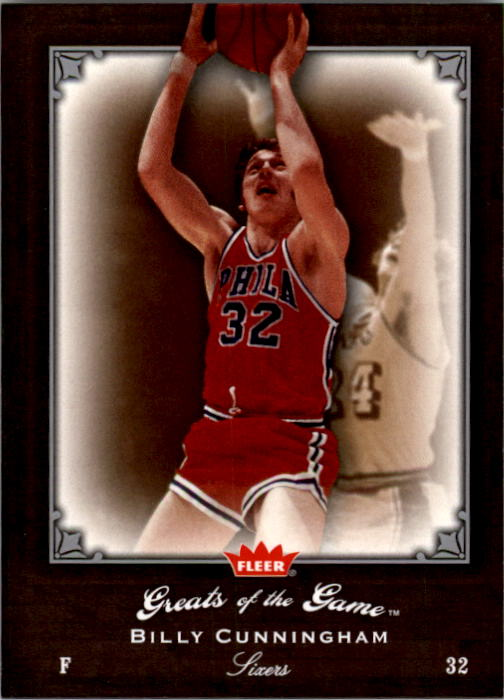 2005-06 Greats of the Game #33 Billy Cunningham