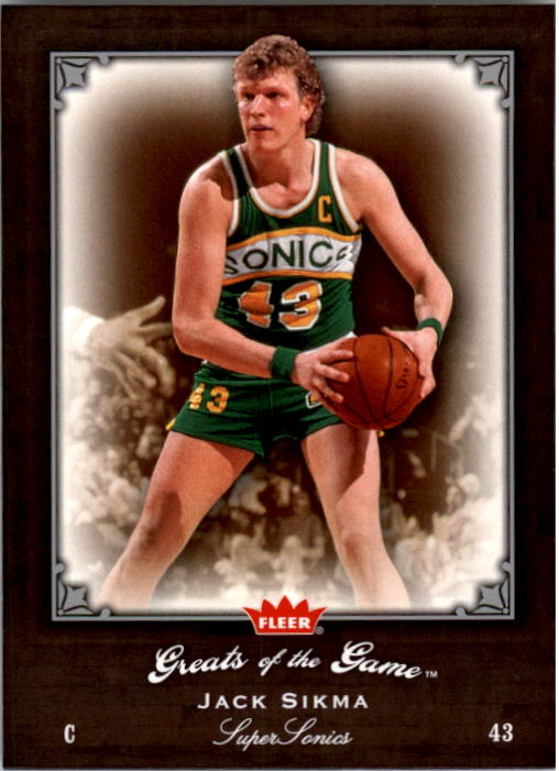 2005-06 Greats of the Game #34 Jack Sikma