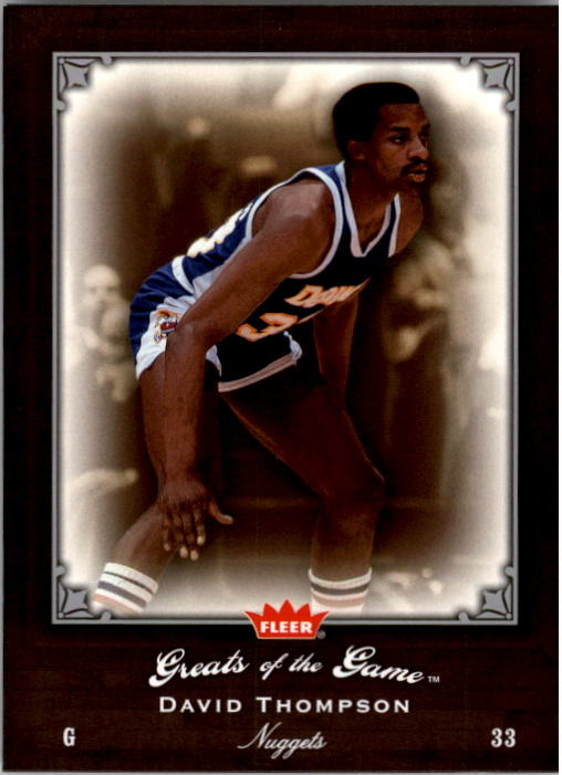 2005-06 Greats of the Game #36 David Thompson