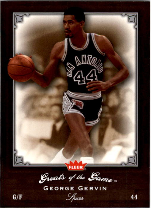 2005-06 Greats of the Game #39 George Gervin