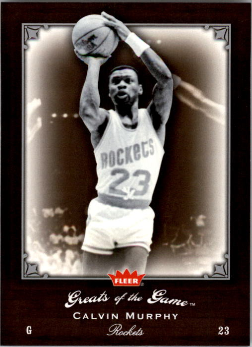 2005-06 Greats of the Game #41 Calvin Murphy