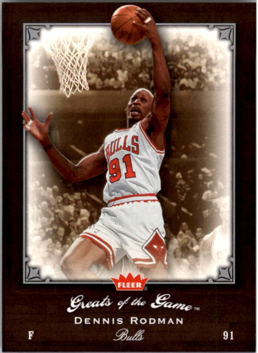 2005-06 Greats of the Game #45 Dennis Rodman
