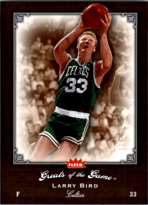 2005-06 Greats of the Game #52 Larry Bird