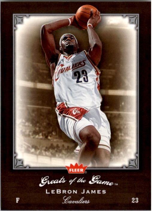 2005-06 Greats of the Game #53 LeBron James