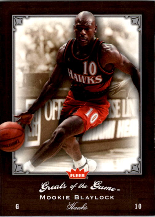 2005-06 Greats of the Game #56 Mookie Blaylock