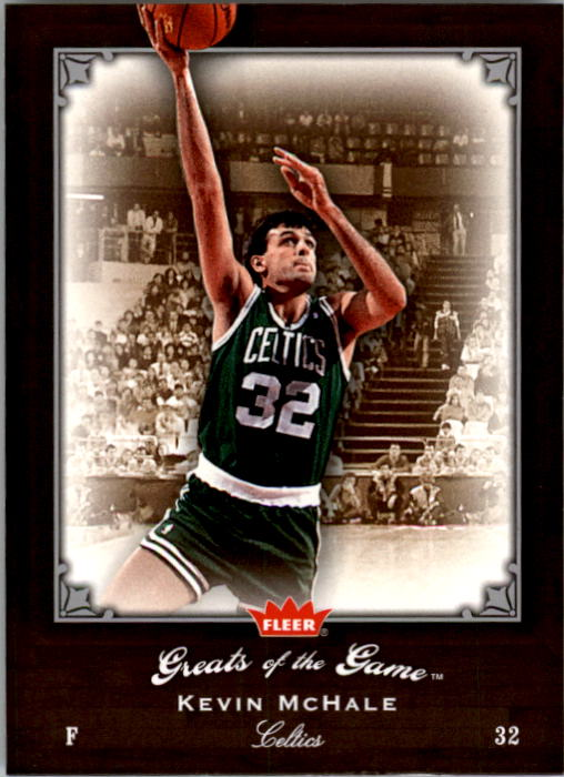 2005-06 Greats of the Game #58 Kevin McHale