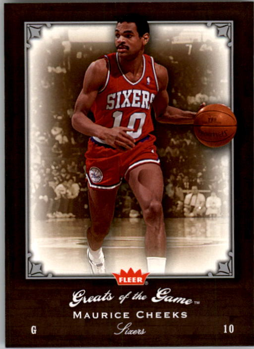 2005-06 Greats of the Game #59 Maurice Cheeks