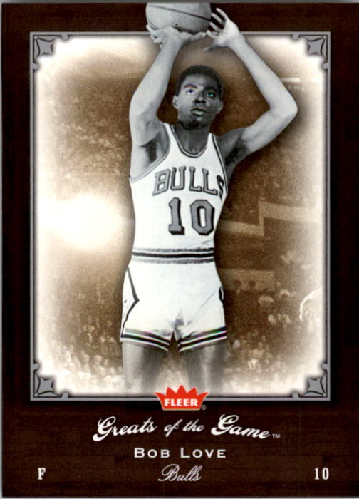 2005-06 Greats of the Game #70 Bob Love front image