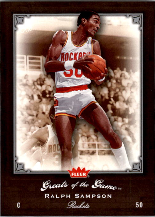 2005-06 Greats of the Game #72 Ralph Sampson