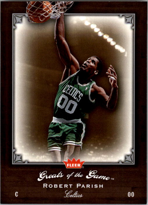 2005-06 Greats of the Game #76 Robert Parish front image