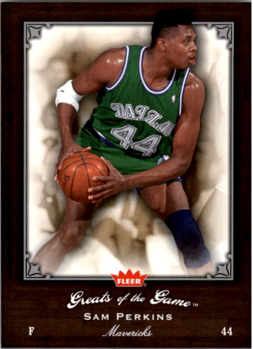 2005-06 Greats of the Game #78 Sam Perkins