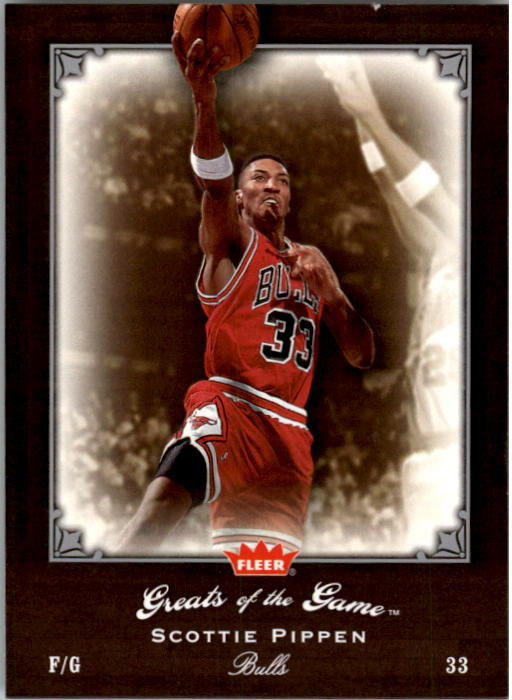 2005-06 Greats of the Game #79 Scottie Pippen