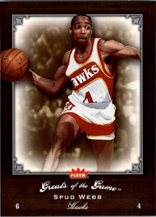 2005-06 Greats of the Game #81 Spud Webb