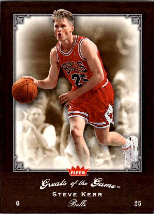 2005-06 Greats of the Game #82 Steve Kerr
