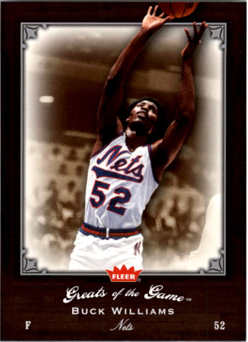 2005-06 Greats of the Game #92 Buck Williams CC