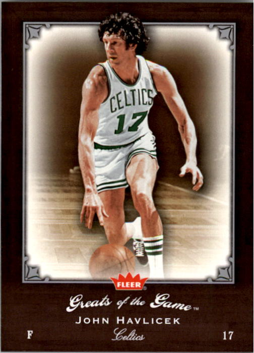 2005-06 Greats of the Game #94 John Havlicek CC